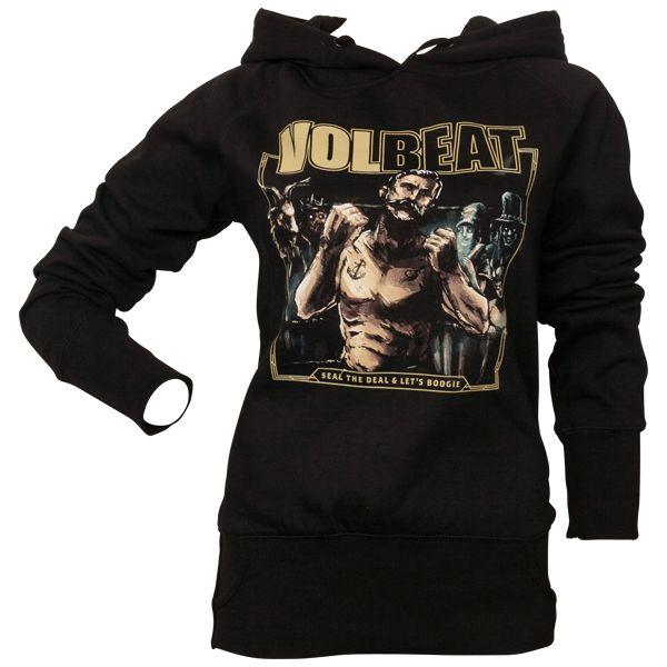 Volbeat - Frauen Kapuzenpullover Seal The Deal & Lets Boogie - schwarz