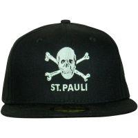 FC St. Pauli - Cap New Era Totenkopf 59fifty - schwarz