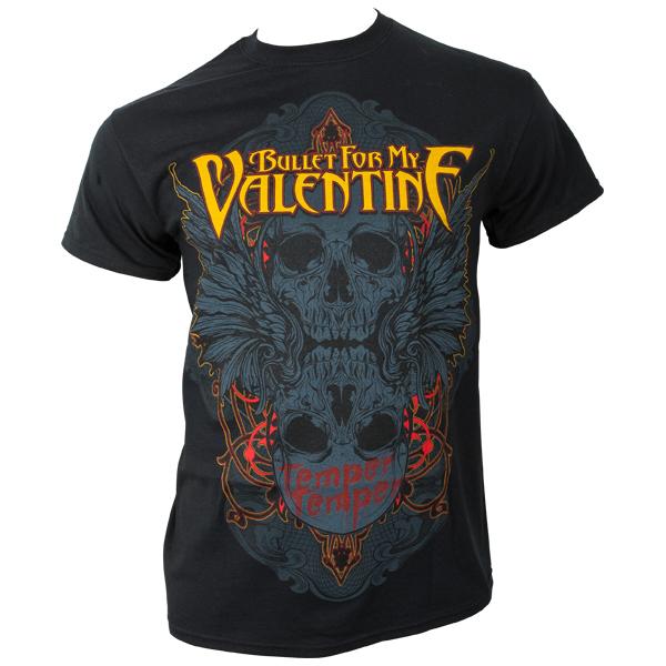 Bullet For My Valentine - T-Shirt Winged Skull - schwarz