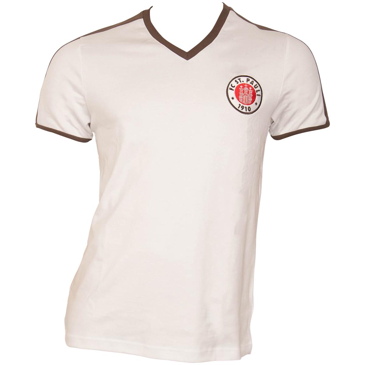 FC St. Pauli - Retrotrikot 1985 - weiß