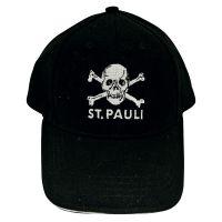 FC St. Pauli - Kinder Cap Totenkopf - schwarz
