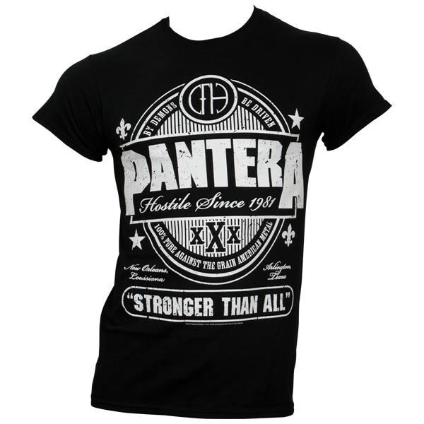 Pantera - T-Shirt Stronger Than All - schwarz