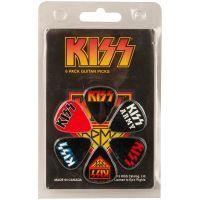 Kiss - Gitarren Plektren - 6er Set