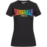 Lonsdale - Damen T-Shirt Happisburg - schwarz