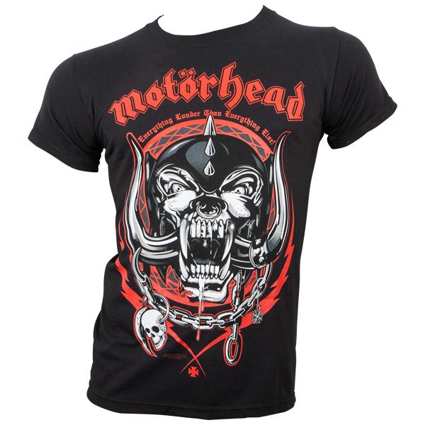 Motörhead - T-Shirt Lightning Wreath - schwarz