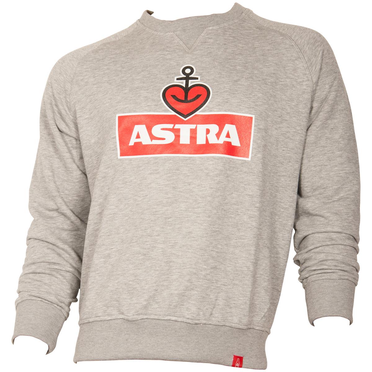 Astra - Sweatshirt Logo - grau