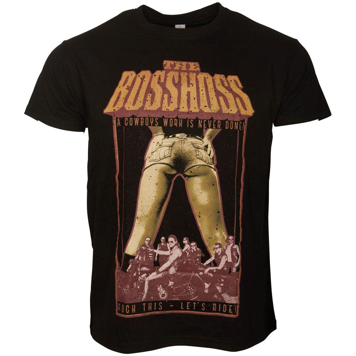 The Bosshoss - T-Shirt Biker - schwarz