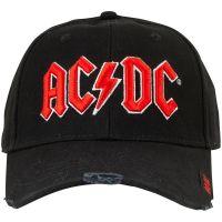 AC/DC - Baseball Cap Red Logo - schwarz