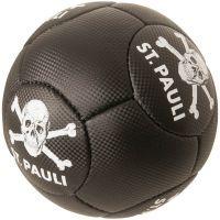 FC St. Pauli - Ball mit Totenkopf - schwarz