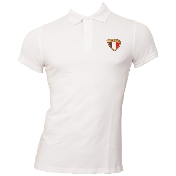 FC St. Pauli - Polo Shirt Tricolor - weiß
