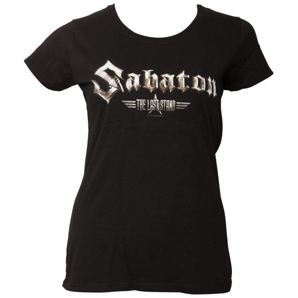 Sabaton - Frauen T-Shirt The Last Stand - schwarz