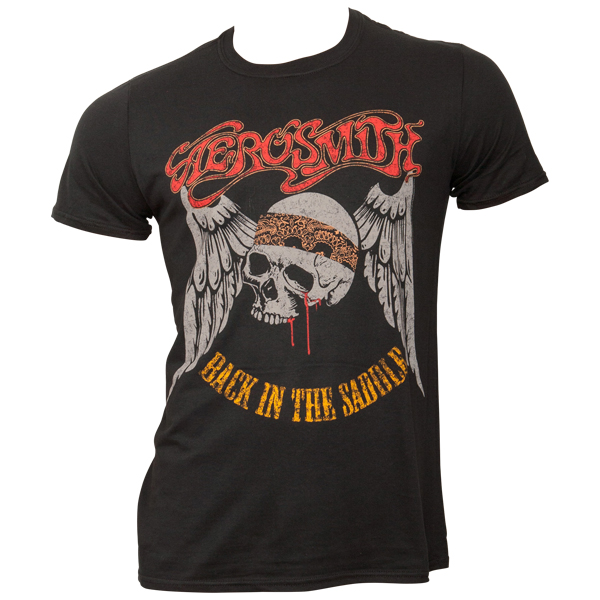 Aerosmith - T-Shirt Back In The Saddle - schwarz