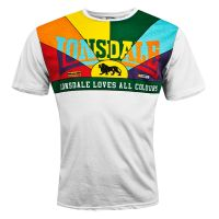 Lonsdale - T-Shirt Loves All Colours - weiß