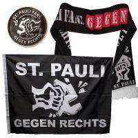 FC St. Pauli - Set Gegen Rechts - schwarz