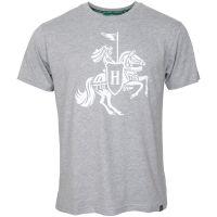Holsten - Herren T-Shirt Ritter groß - grau