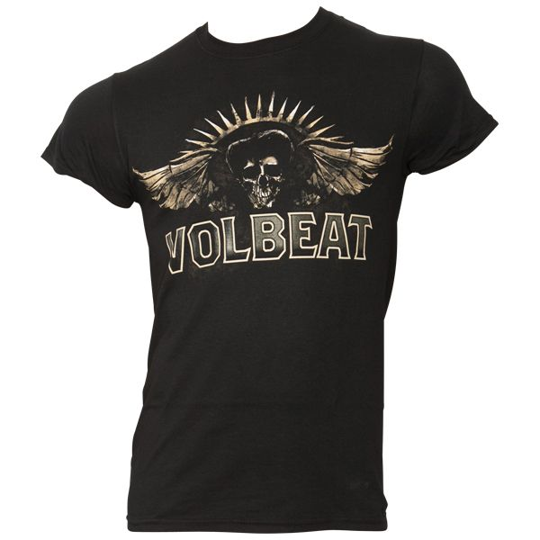 Volbeat - T-Shirt Seal The Deal Skullwing - schwarz