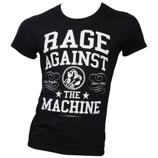 Rage Against The Machine - T-Shirt Crown College - schwarz