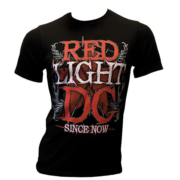 Red Light DC - Since Now - T-Shirt - schwarz
