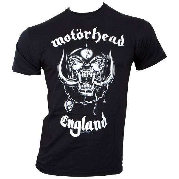 Motörhead - T-Shirt England - schwarz