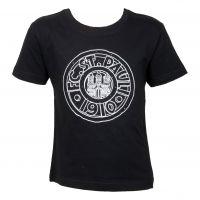 FC St. Pauli - Kinder T-Shirt Stein Comic - schwarz