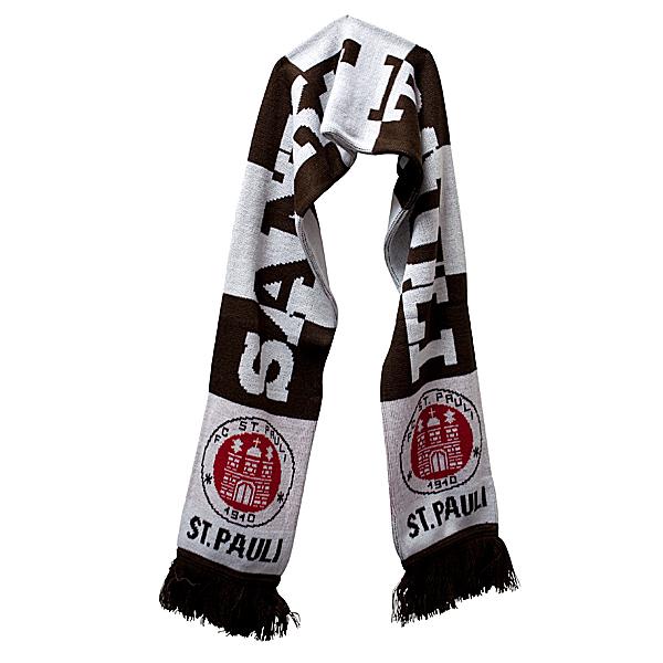 FC St Pauli gegen Rechts Schal Fanschal Scarf