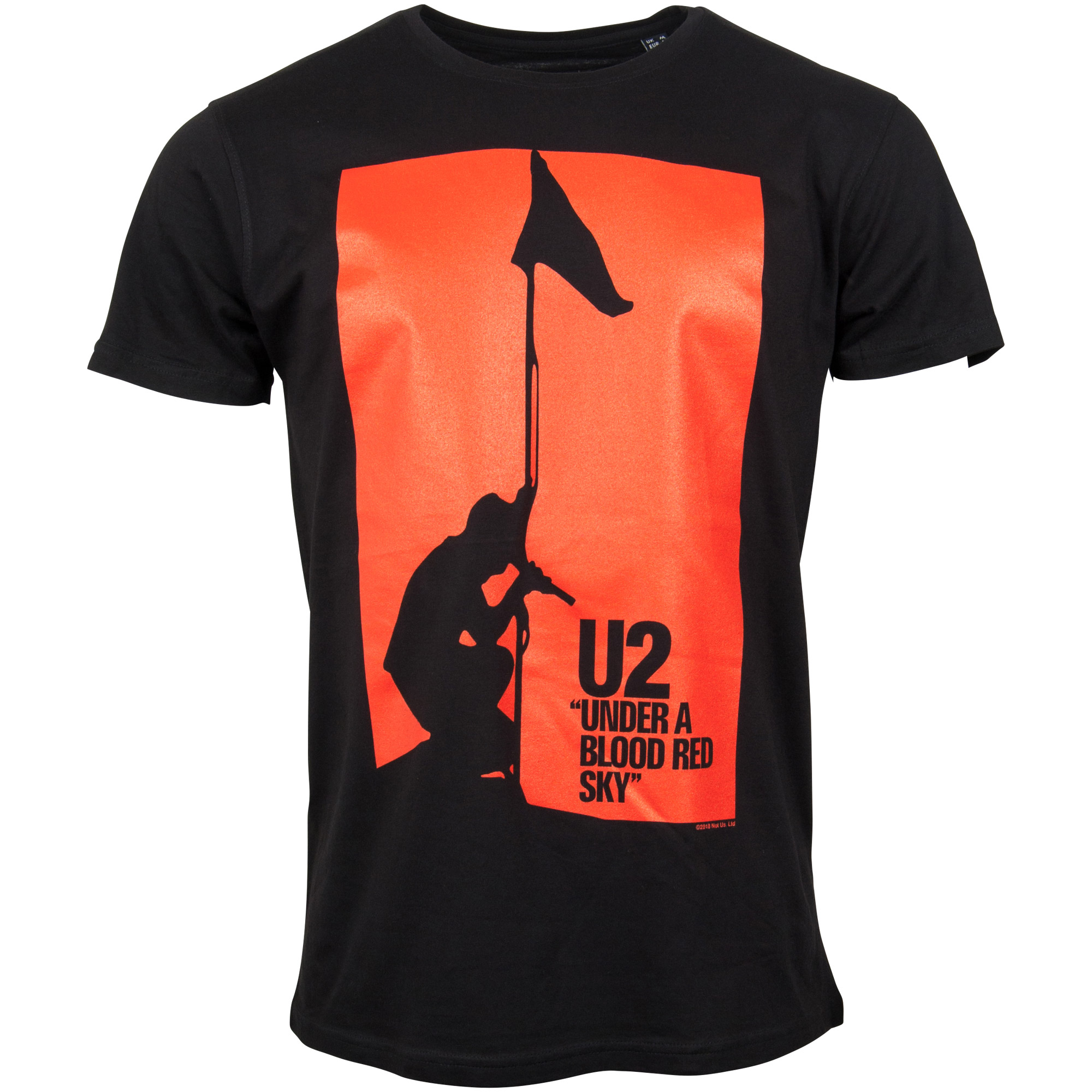 U2 - T-Shirt Blood Red Sky - schwarz
