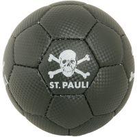 FC St. Pauli - Miniball Totenkopf - schwarz