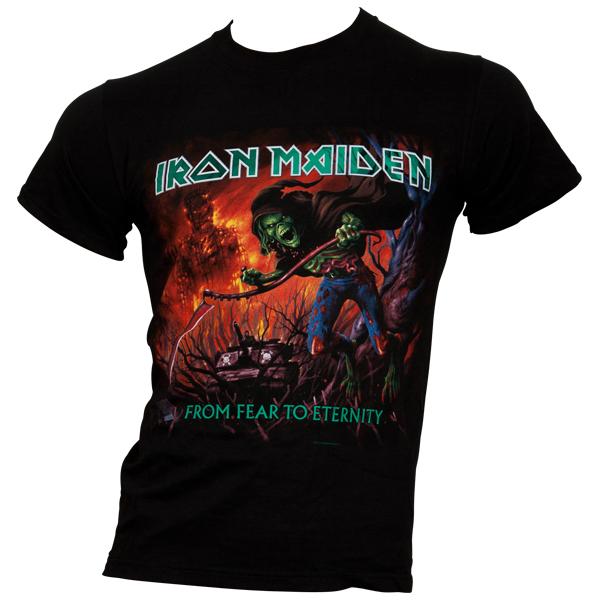 Iron Maiden - T-Shirt From Fear To Eternity Album - schwarz