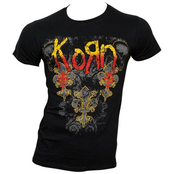 Korn - T-Shirt Skulldelis - schwarz