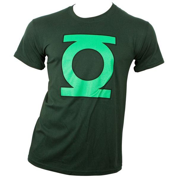 Green Lantern - T-Shirt Logo - grün