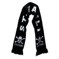 FC St. Pauli - Schal Totenkopf - schwarz
