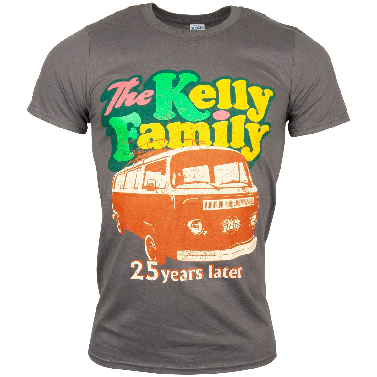 The Kelly Family - T-Shirt Camper Van - grau