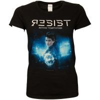 Within Temptation - Damen T-Shirt Resist Orb - schwarz