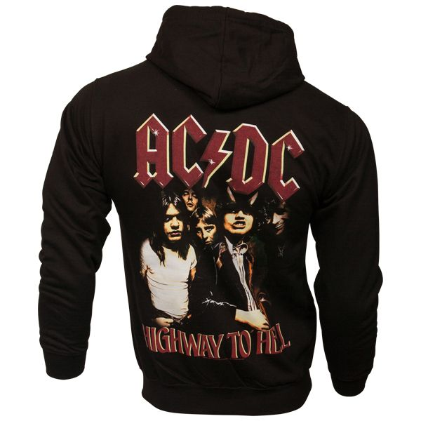 AC/DC - Kapuzenjacke Highway To Hell - schwarz