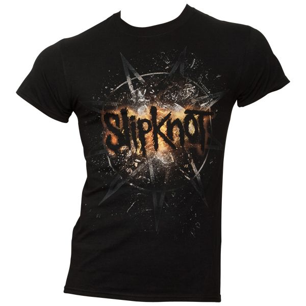 Slipknot - T-Shirt Smashed - schwarz