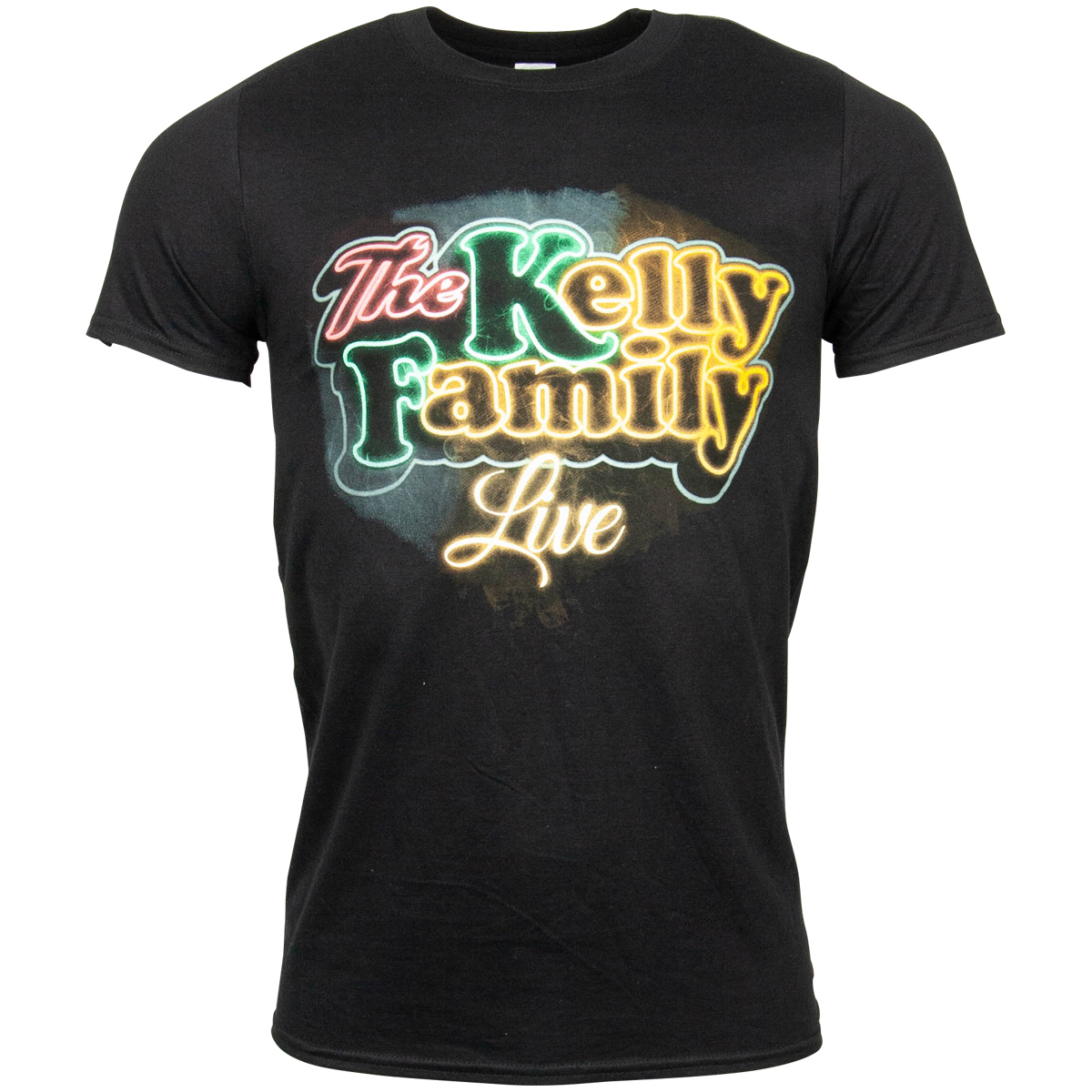 The Kelly Family - T-Shirt Neon Logo - schwarz