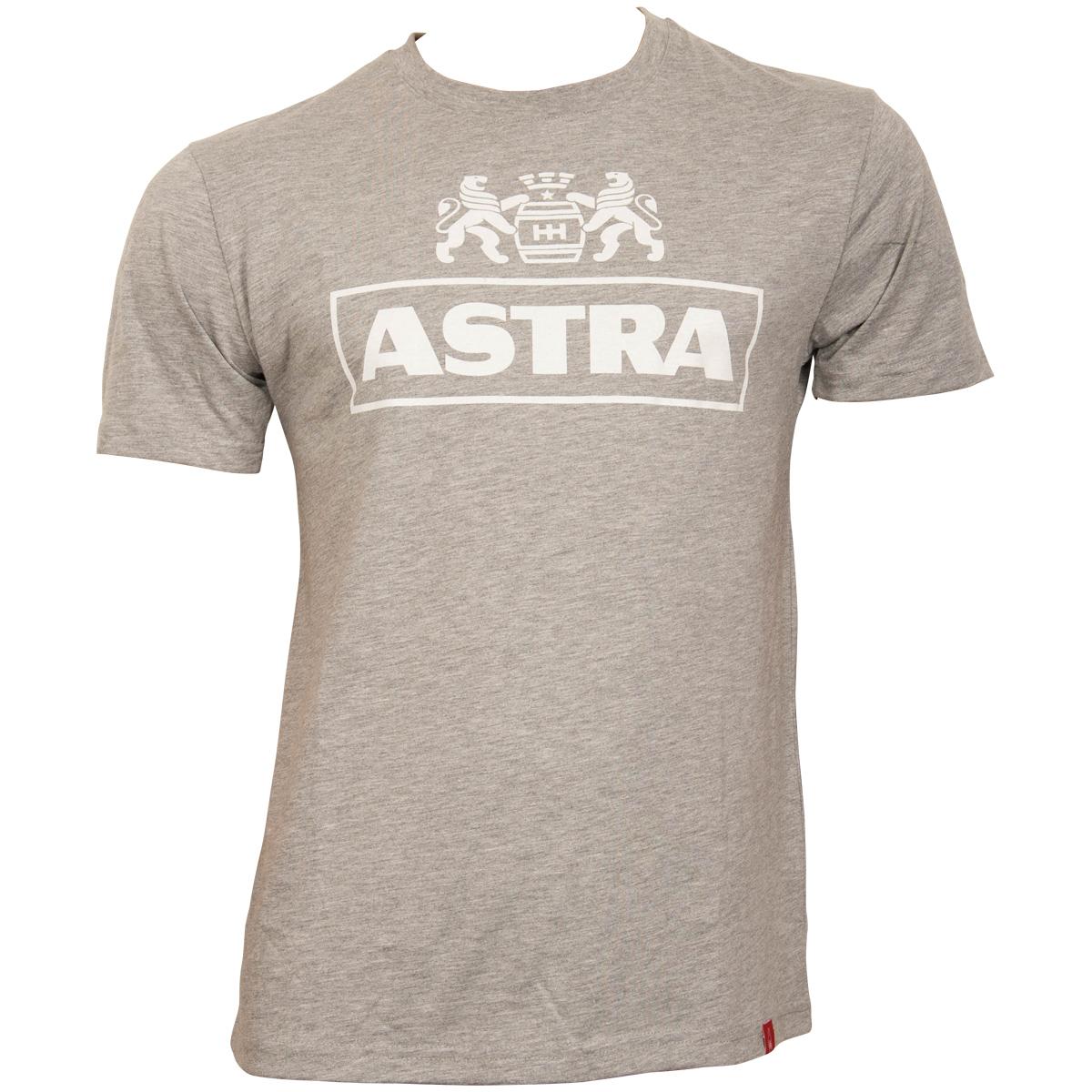 Astra - T-Shirt Klassik Logo - grau