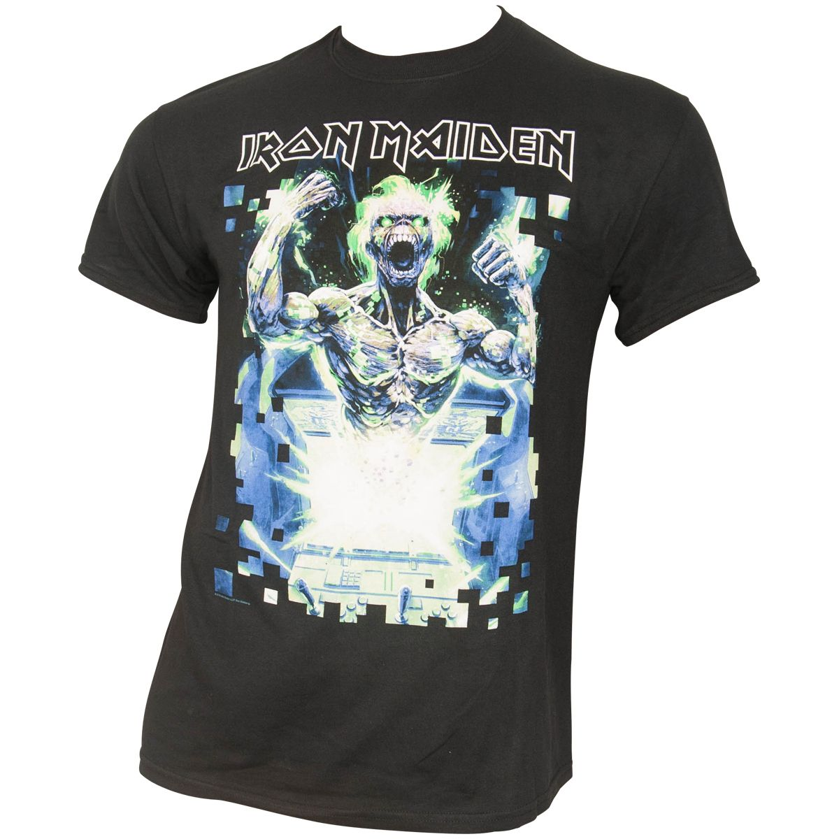 Iron Maiden - T-Shirt Speed Of Light - schwarz