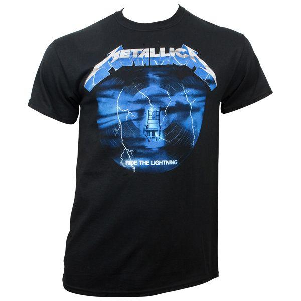 090a2456 Metallica - T- Shirt Ride The Lightning 3 - black | ROCKnSHOP