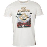 Foo Fighters - T-Shirt Roswell - hellbeige