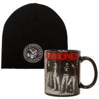 Ramones - Set aus Mütze und Becher - schwarz