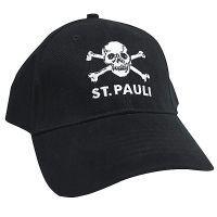 FC St. Pauli - Cap Totenkopf - schwarz