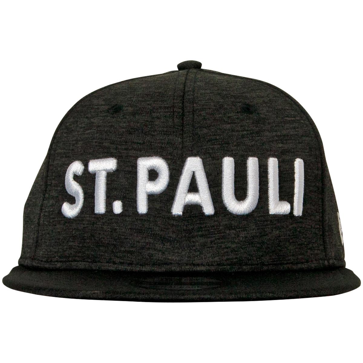 FC St. Pauli - NewEra Kappe Schriftzug ST. PAULI - anthrazit