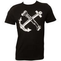 FC St. Pauli T-Shirt Anker - schwarz