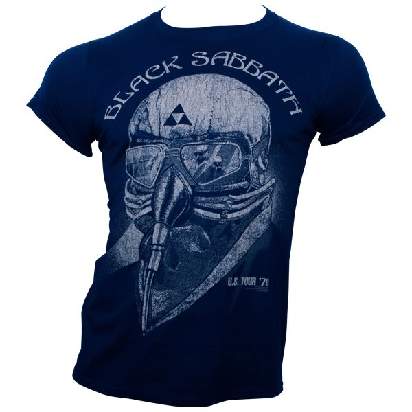 Black Sabbath - T-Shirt US-Tour 78 - schwarz