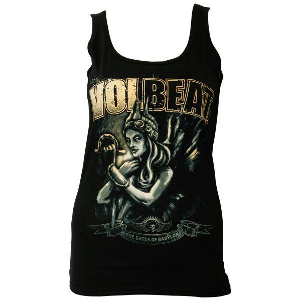 Volbeat - Frauen Top The Gates Of Babylon - schwarz