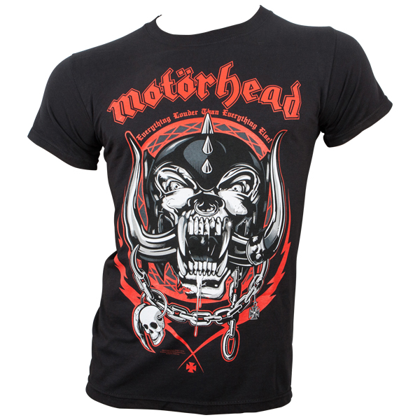 Motörhead - T-Shirt Lightning Wreath - schwarz