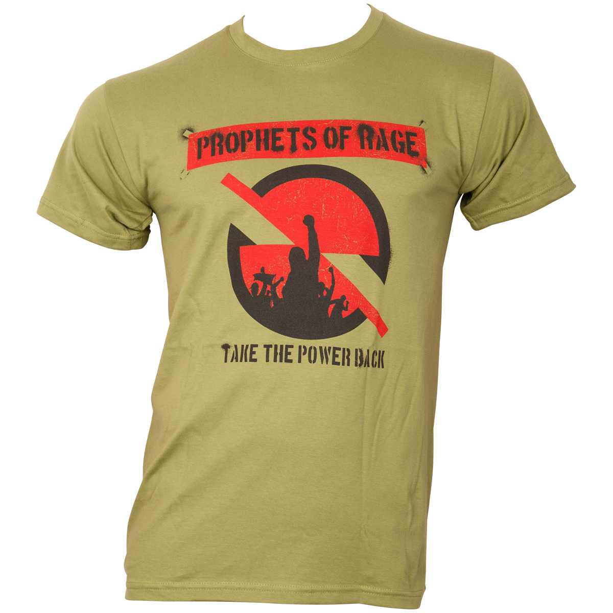 Prophets of Rage - T-Shirt Circle Stencil - grün