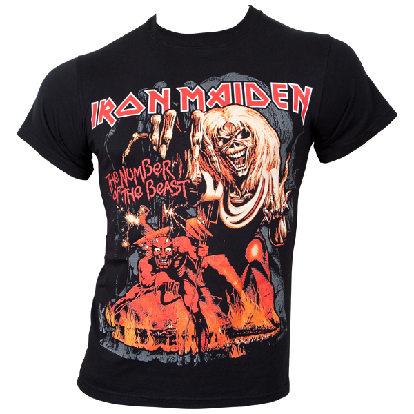 Iron Maiden - T-Shirt Number Of The Beast Graphic - schwarz