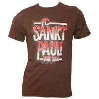 FC St. Pauli - T-Shirt Block - braun